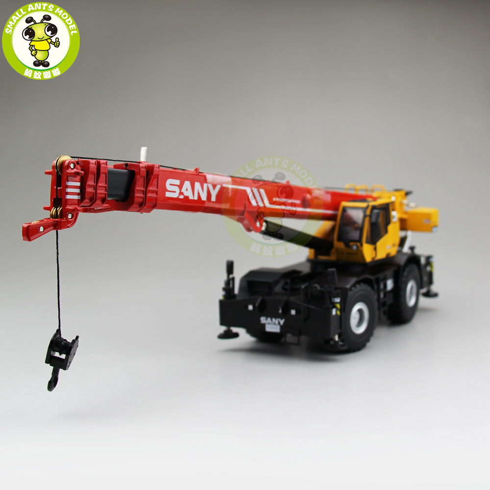 1/50 SANY ROUGH-TERRIAN Off-road Suspens CRANE SRC865XL Diecast Metal Model Gift Hobby Collection free shipping alloy shock cap set piggy back shock caps for baja 5b ss and 5t