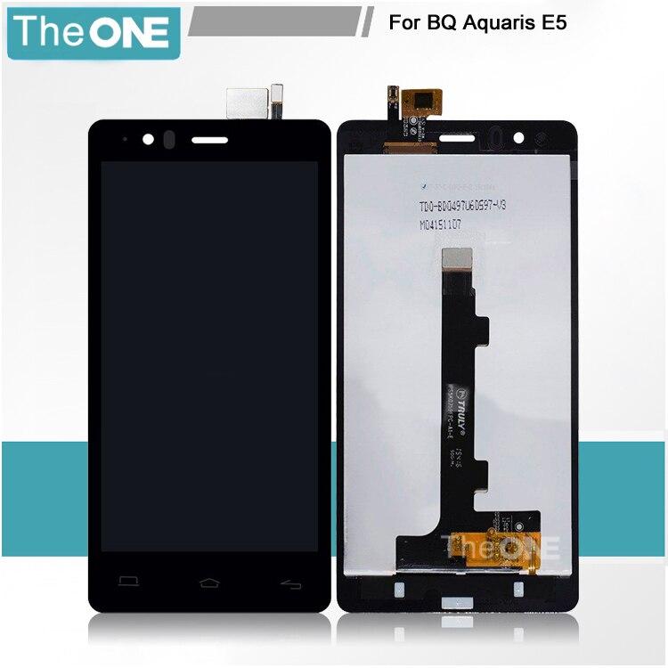 5 inch HD LCD screen with Touch screen for BQ Aquaris E5 HD LCD 5K0759 5K0760 5K0982 5K0858