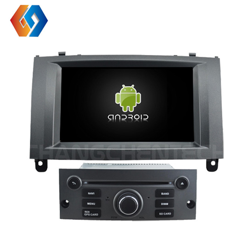 7 Android 8 car dvd player IPS HD screen for PEUGEOT 407 touch screen GPS radio stereo DVR/DVD/BT/WIFI/DAB/OBD/4G/32G/Octa 3 гардемарины 3 dvd