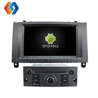 7 Android 9 Car DVD Player IPS HD Screen for PEUGEOT 407 Touch Screen GPS Radio Stereo DVR/CD/BT/WIFI/DAB/OBD/4G/32G Octa Core