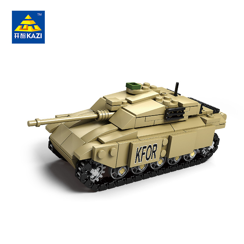 Blocos kazi militar modelo de tanque Feature 4 : Christmas Gift, Birthday Gift For Kid, Model Hobby