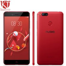 Original Nubia Z17 Mini 4G Mobile Phone 4GB RAM 64GB ROM 5.2 inch 1920 x 1080P Front 16.0MP Dual Rear 13.0MP GPS Fingerprint NFC
