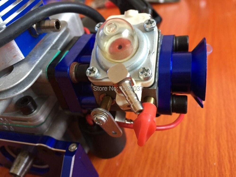 🛒 29cc 2 Stroke RC boat Petrol Marine Gas Engine for Racing Boat VS