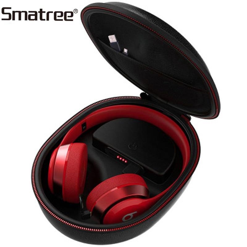 Smatree Earphone Charging Bag Wireless Headphone Charging Case for Beats Solo2/Solo3 (Headphone is NOT included) apple beats solo2