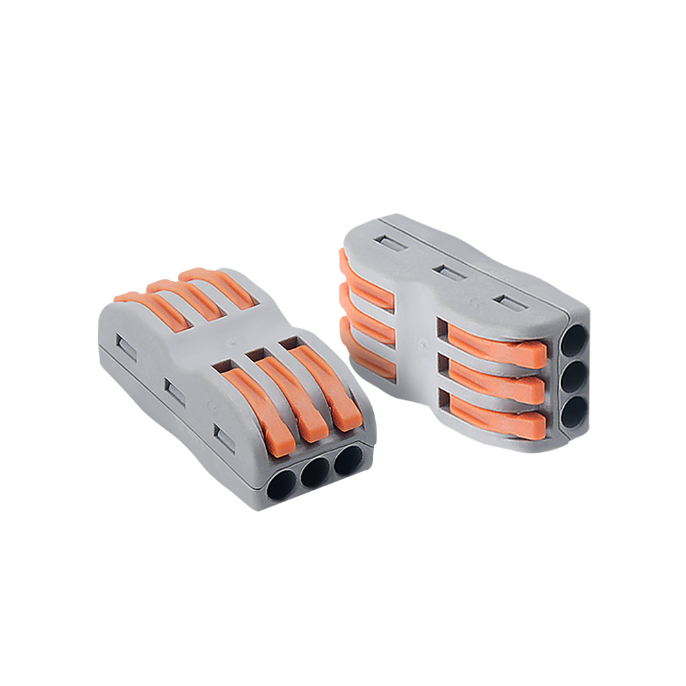 Wire Connectors PCT-212 Terminal Block Conductor With Lever 0.08-2.5 Mm 214 218 SPL-2 Push-In Mini Terminal Block Cable Splitter