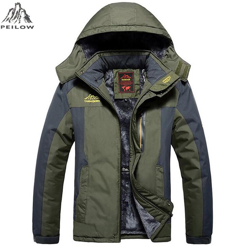 Citaten Winter Xl : Peilow plus size xl winter jacket men