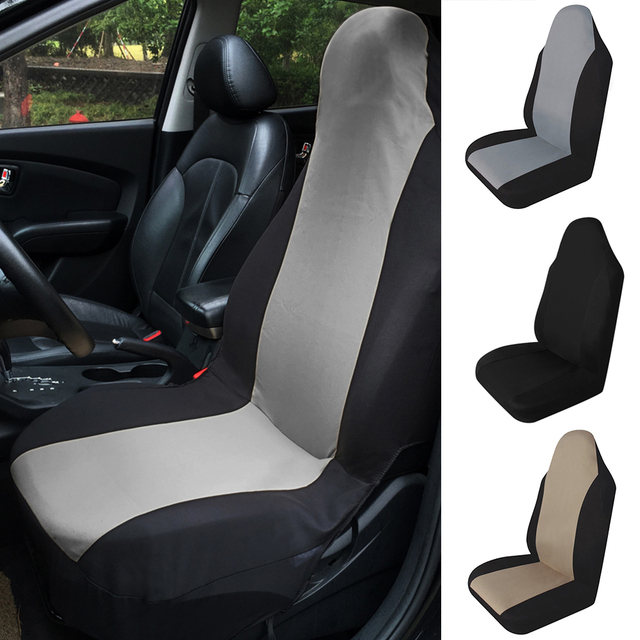 1pc Car Seat Cover Breathable Auto Front Rear Cushion Protector Waterproof Anti Dust