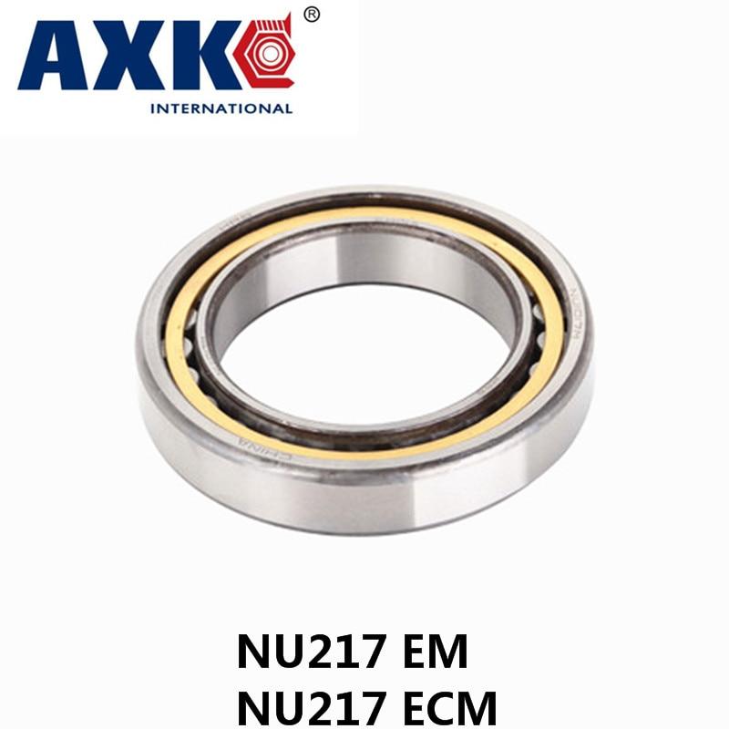 все цены на 2017 Limited New Arrival Steel Rolamento Axk Nu217 Em Or Nu217ecm (85x150x28mm)brass Cage Cylindrical Roller Bearings Abec-1,p0 онлайн