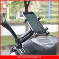 Motocicleta Scooter Espelho Retrovisor Montar Titular para 4-6 Polegada de Tela Telefones Inteligentes com 1 polegadas Bola