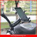 Vespa de la motocicleta Del Espejo Retrovisor de Montaje Soporte para 4-6 Pulgadas de Pantalla de Los Teléfonos Inteligentes con 1 pulgadas Bola