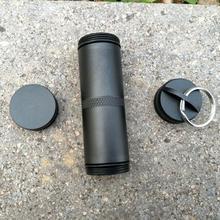 Открытый может таблетки бутылка герметичные уплотнения бушкрафт контейнер Водонепроницаемый Путешествия аварийное снаряжение коробка для таблеток инструмент для хранения