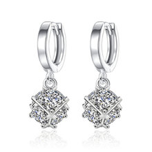 Nehzy новые женские модели ярких кристаллов в коробке серебряного