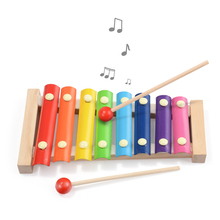 Wooden Music Instrument Montessori Children S Educational Early Wooden Xylophone Toys Hand Knocking Piano Gift for