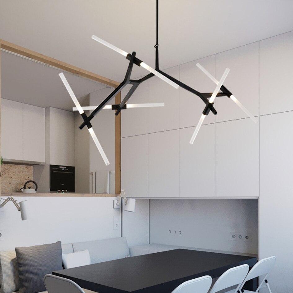 official photos 640fd 443e6 EKOO Sputnik Chandelier Uplight Ambient Postmodern LED Home ...