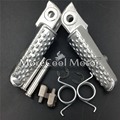 6mm Front Footrest Foot Pegs For Honda CBR600RR 2007 2008 2009 2010 2011 2012 2013 2014 Rider Footpegs Pedals Left & Right