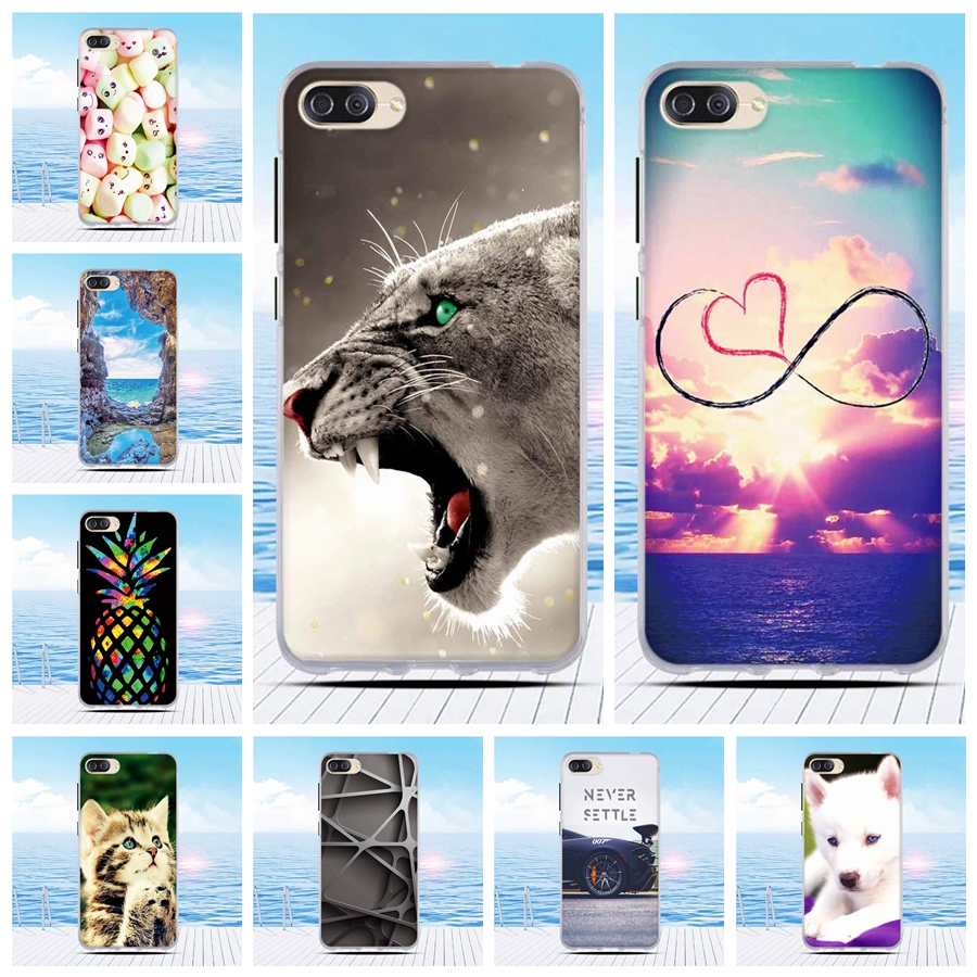 Soft TPU Cover For Asus Zenfone 4 Max ZC520KL Case 5.2 Phone Case For Asus Zenfone 4 Max ZC520KL ZC520 KL X00ED Painted Case