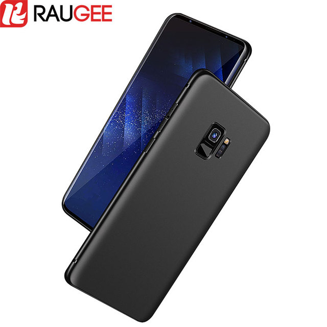 the best attitude a7423 8e1f8 US $2.72 9% OFF|Raugee for Samsung Galaxy S9 Plus Silicone Case Cover  Bumper Shockproof Matte Rubber Case For Galaxy S9 S9+ Plus Soft TPU  Fundas-in ...