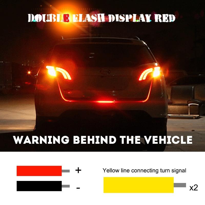 OKEEN Tailgate LED Strip Light Bar Revers Əyləc Dönüş Siqnal - Avtomobil işıqları - Fotoqrafiya 4
