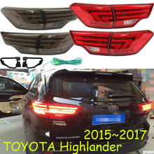 Highlander taillight,2015 2016 2017 2018,LED,Free ship!vios,corolla,Hiace,tundra,sienna,yaris;Highlander rear lamp