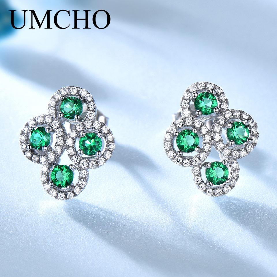 UMCHO luxus Real 925 Sterling Ezüst Ékszer Létrehozott orosz - Finom ékszerek