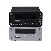 1PC AUDIO DAC PJ Miaolai T5 APE WAV FlAC Lossless เครื่องเล่นเพลง USB ถอดรหัสดิจิตอล RAC เอาท์พุทแอมป์เสียงทางเทคนิค