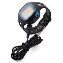 Высокое качество зарядка через USB Колыбели док-станция для Garmin Forerunner 10 и Forerunner 15 GPS Бег Смарт-часы