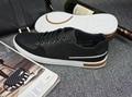 european and american style herre sko afslappet men black shoe male zapatilla cocodrilo Fur Hard-Wearing Button