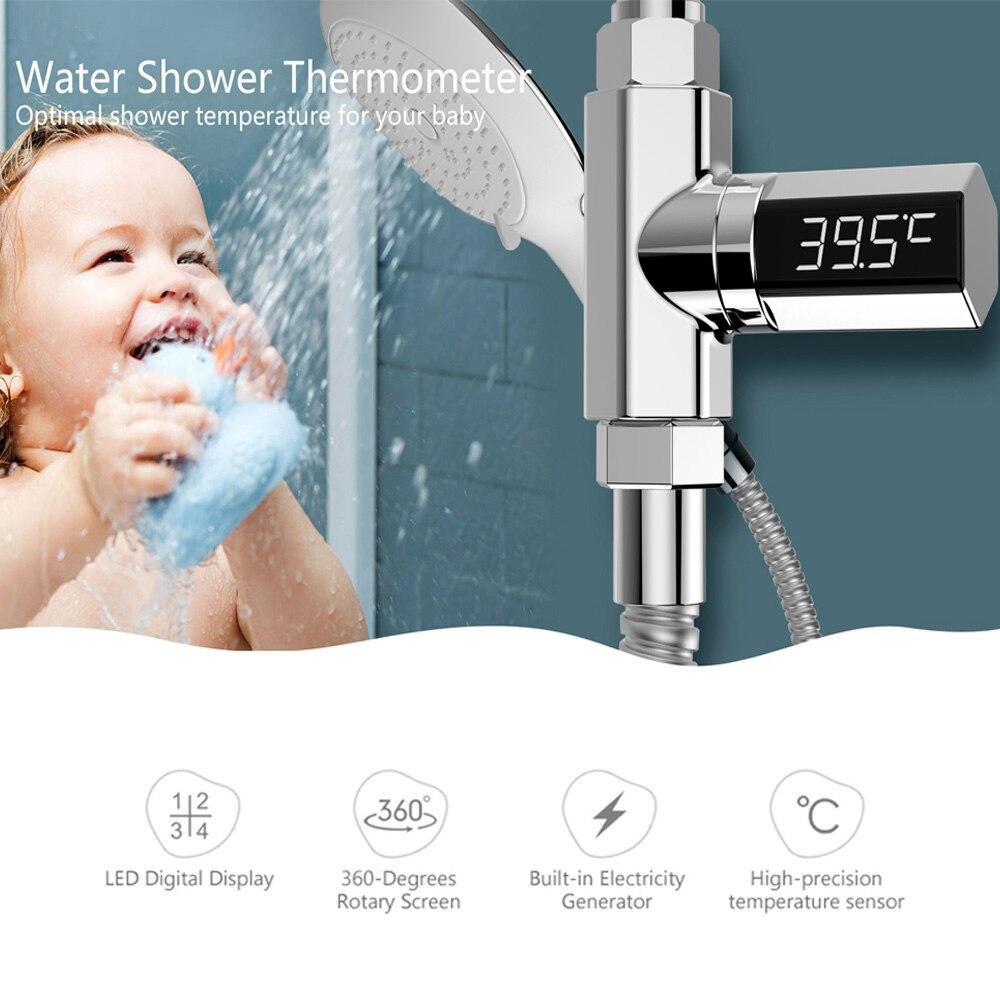 Mutter & Kinder Babypflege Lw-101 Led-anzeige Home Wasser Dusche Thermometer Fluss Selbst Generierende Strom Wasser Temperture Meter Monitor Für Baby Pflege