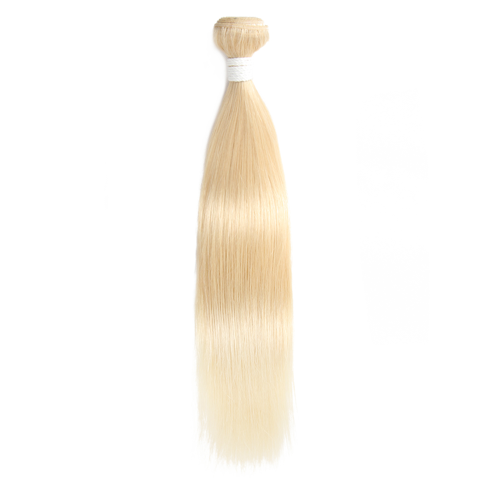 EUPHORIA 8-26inch Brazilian Straight Human Hair Weave Bundles 3pcs/lot Honey Blonde 613# 100% Remy Hair Weaving 3 Bundle Deals