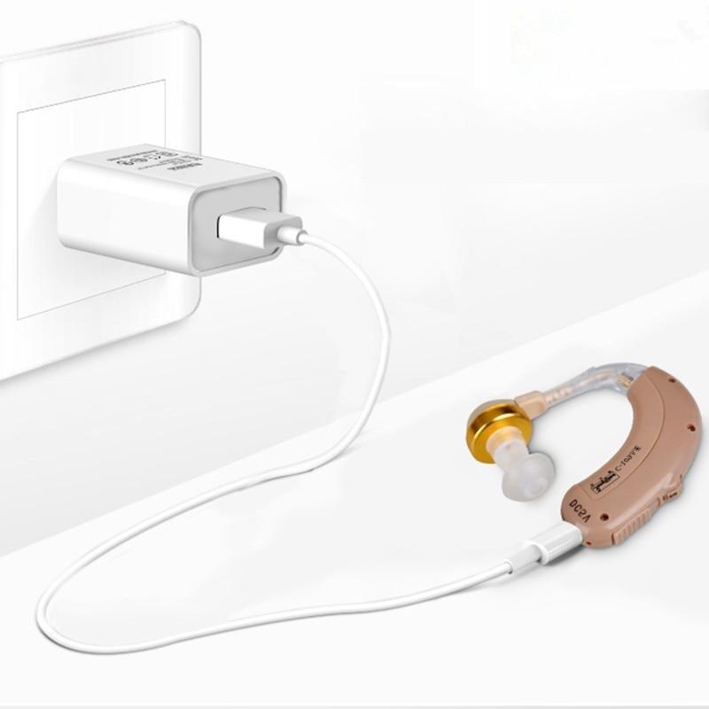 Cheap Hearing Aid for the Rechargeable Ear C-109 Mini Hearing Device Audifono Sordera Free shipping мануэль сото эль сордера grands cantaores du flamenco el sordera volume 16
