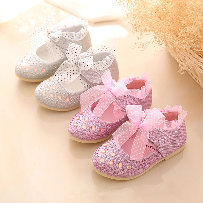 5ff6f4dc5c4 2016 Baby Girls First Walker Shoes Crystal Baby Shoes For Wedding Fancy  Toddlers Girls Party Shoes Kids Princess Shoes
