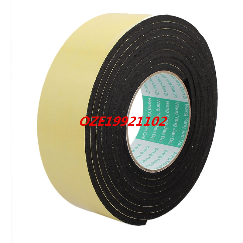 3 Meter 50mm x 5mm Single Side Adhesive Foam Sealing Tape for Door Window single sided blue ccs foam pad by presta