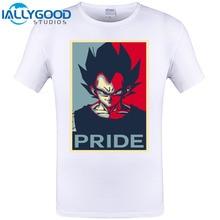 Vegeta PRIDE Poster Cool Design Hipster Men Fashion T Shirt O-neck Casual Basic Tops Vintage Super Saiyan Printed Tee Shirts 6XL