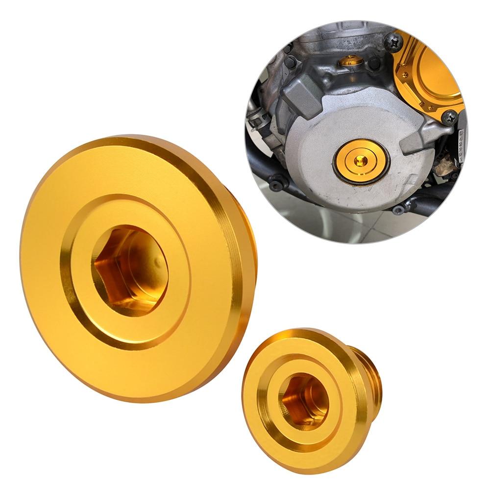Motorcycle Engine Timing Cap Plugs Bolts for Suzuki RMZ250 RMZ 250 2007-2019 RMZ450 RMZ 450 RMX450Z RMX 450Z 2010-2019 Gold
