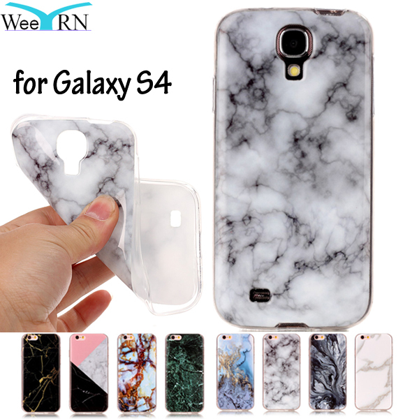 GT-I9500 GT-I9505 GT-I9506 Cover Marble Effect Soft Silicon Case Cover For Samsung Galaxy S4 SIV S 4 S4 Cases TPU Capa Funda