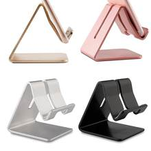 Phone Holder Foldable Stand Aluminum Alloy Cell Phone Tablet PC Desk Holder Universal Mount Metal Wholesale Purchasing 4 Color(China)