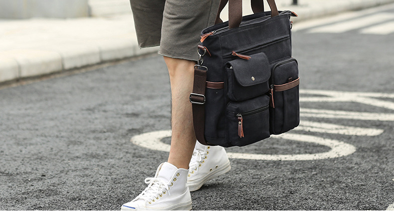 HTB1a.YEeBKw3KVjSZTEq6AuRpXa4 Jorgeolea Men Canvas Business Briefcase Versatile Casual Handbag For Men Travel Satchel E502