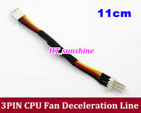 50PCS LOT Free Shipping 3PIN CPU Fan Deceleration Line Fan Resistor Cables For Computer Desktop Accessories