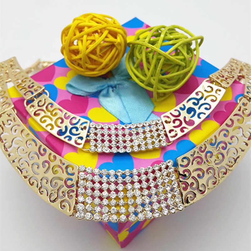 2018 Thời Trang Phụ Nữ Dubai Vàng-màu Bộ Đồ Trang Sức Lớn Nigeria Wedding Beads Phi Bộ Đồ Trang Sức châu phi hạt trang sức set