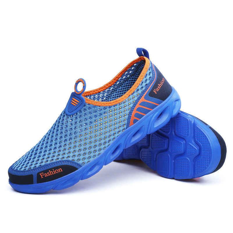 f266fdbd30a0 ... PINSV Aqua Shoes Men Aqua Shoes Women Summer Beach Shoes Water Shoes  For Men Sports Sneakers ...