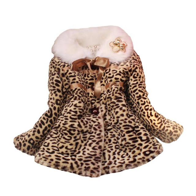 aae8c1bb9 children s clothing 3 6 year High Quality Girls Leopard faux Cotton ...