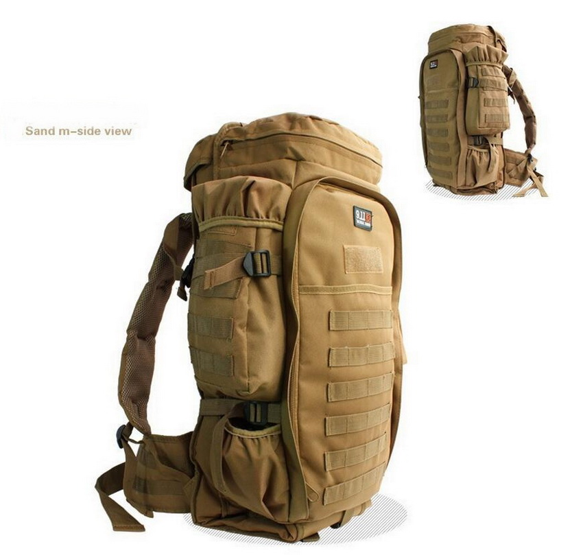 911 outdoor mountain climbing big backpack, field backpack, stretching large backpack, tactical package