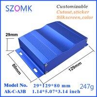 1 Piece Enclosure Amplifier Enclosure29 128 80mm1 14 5 3 15 Inch Aluminum Project Box