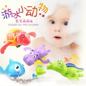 Image 3 - Bathing spouts clockwork Play Water in the bathroom oyuncak for baby Boys Children kids pool swimming Bathtub bath toys