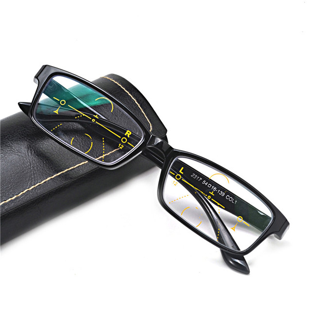 1be9725e14 MINCL Cat glasses reading glasses ladies progressive multi-focus reading  glasses unique custom intelligent distance with box NX