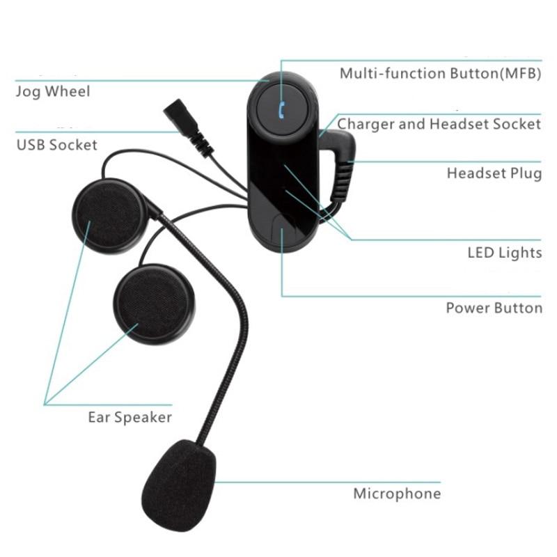 Freedconn T 02s Motorcycle Helmet Interphone Bluetooth Rhaliexpress: Helmet Audio Intercom Pillion At Elf-jo.com
