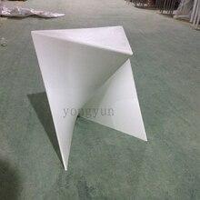 Moderne Kunststoff Hocker Blitz Stil Hocker Wohnzimmer Möbel  Minimalistischen Modernen Stuhl 4 STÜCKE(China)