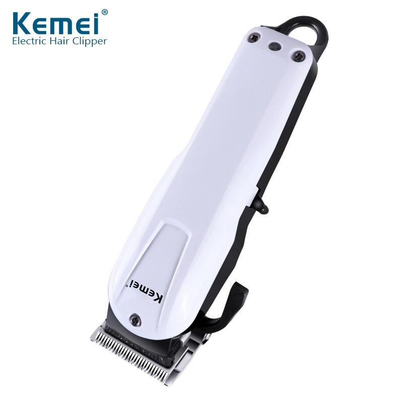 Kemei Rechargeable électrique coupe de cheveux Machine pour homme professionnel étanche cheveux tondeuse sans fil électrique tondeuse KM-2601