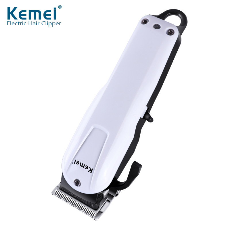 Kemei Rechargeable Electric Haircut Machine For Man Professional Waterproof Hair Clipper Cordless Electric Hair Trimmer KM-2601 kemei km 1027 professional adjustable 4 in 1 electric hair clipper haircut trimmer maquina with combs ac220 240v for men