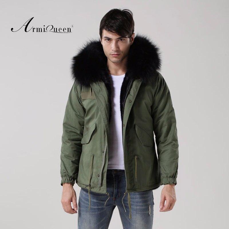 Capuchon Col La Épais Vestes D'hiver Veste Fourrure Homme Fourrures Coton En À Manteaux Taille De Mince Noir Plus QrtshCd